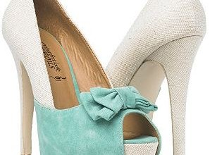 contrast bow court shoes