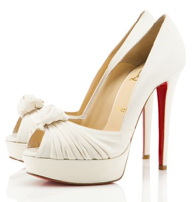 Bridal Shoes April 21 2011 I 39d head straight to Christian Louboutin and
