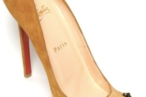 christian louboutin lion paw pumps