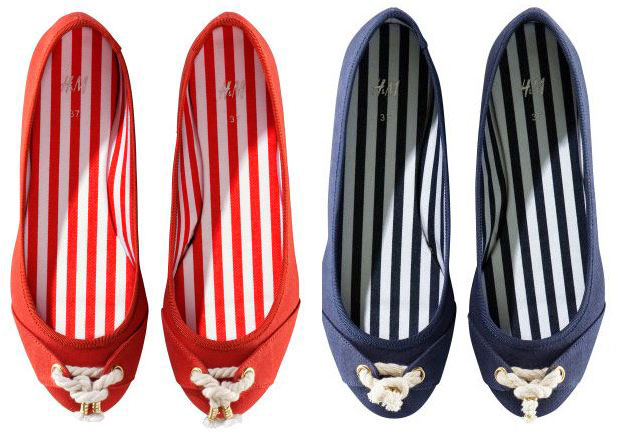 h&M-nautical-canvas-flats