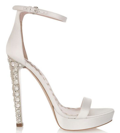 Wedding Shoes Bridal on Miu Miu Wedding Shoes Beautiful Bridal Shoes  Miu Miu Crystal Heel