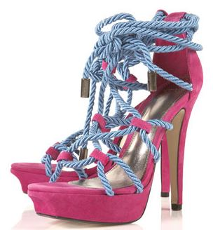 topshop lucious rope platforms