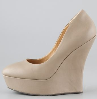 LAMB novice wedge pumps