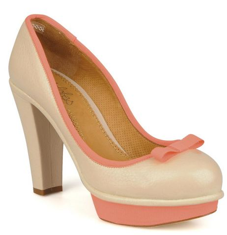 platfrom court shoes