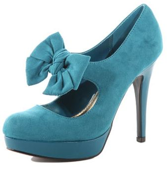 teal suede shoes