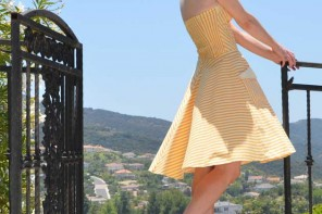 yellow-dress-melissa-shoes
