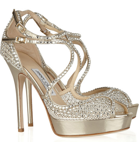 a018c23297f Jimmy Choo  Fairview  embellished mesh and leather sandals · Read More ·  Designer Shoes ...