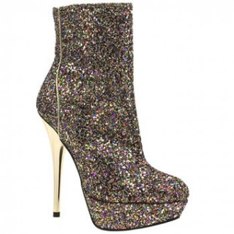 6cd4cff1a461 Prince and Princess  Glitter wedges and ankle boots from Schuh