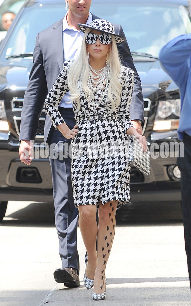 Lady Gaga in Salvatore Ferragamo