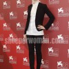 Evan Rachel Wood in Salvatore Ferragamao