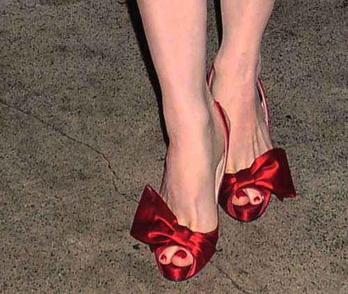 Red Bow Dorcet pumps by Christian Louboutin