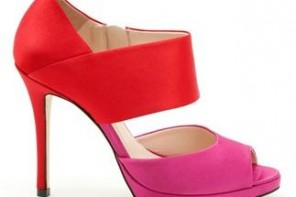 Red and pink La Magdalene shoe by Mary Portas for Clarks