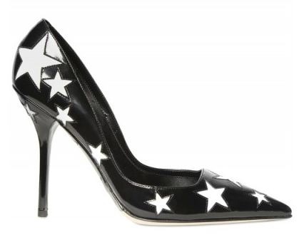 Star printed court shoes by Doce & Gabbana