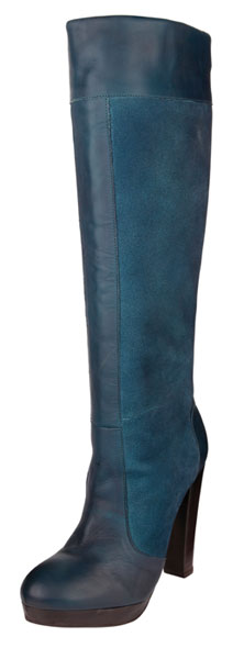 teal platform knee boots from next gt shoeperwoman