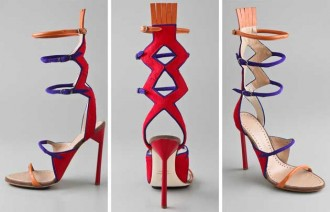 Tribal sandals by Proenza Schouler