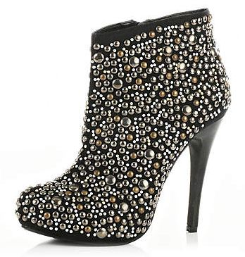 embellished ankle boots from River Island shoes