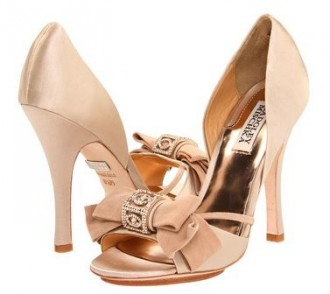 pink satin high heeled sandals