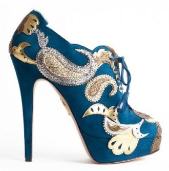 Charlotte Olympia Orient Express Shoe Boots