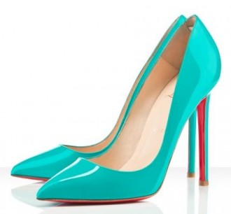 Christian Louboutin Pigalle120mm in turquoise