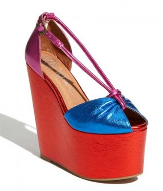 High platform wedge shoes by Jeffrey Campbell
