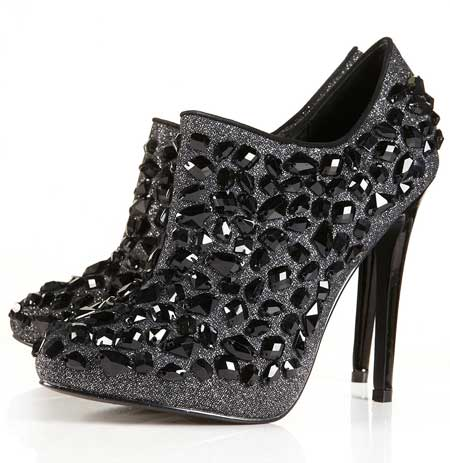 Topshop Alita jewelled ankle boots