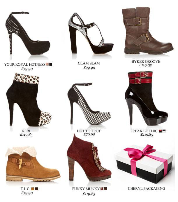 Cherl Cole shoe collection for Stylist Pick