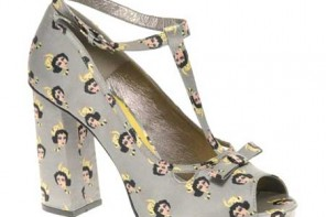 ASOS Pelcian cat print shoes