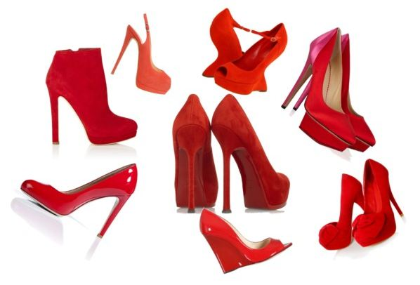 you a lot of red shoes this year didn t i a lot of red shoes i think