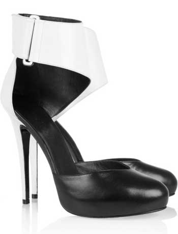 Karl Lagerfeld for Net-a-Porter shoes