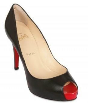 sports shoes bd00c 36426 Friday Fix: Christian Louboutin 100MM Very Prive peep toes ...