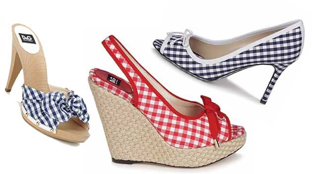 D&G gingham shoes