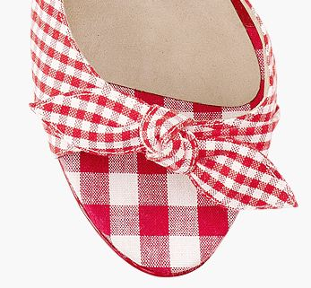 Jimmy Choo gingham 'Brigitte' pumps