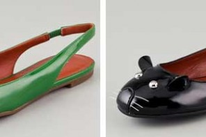 Marc Jacobs mouse flats