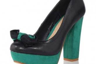 Dorothy Perkins colourblock pumps