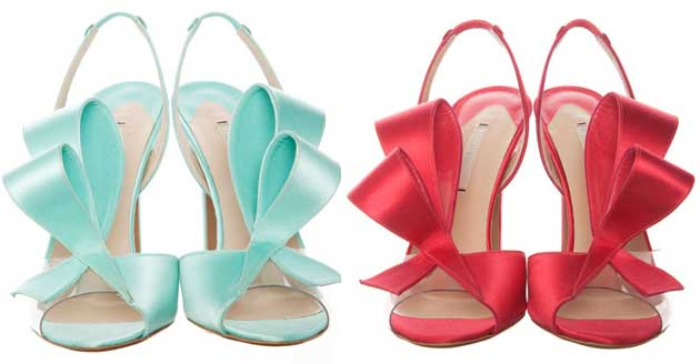 nicholas kirkwood bow sandals Shoe Kryptonite: Nicholas Kirkwood satin bow sandals