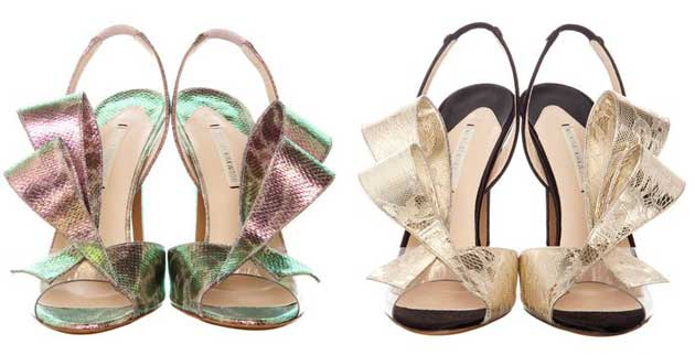 nicholas kirkwood ss 2012 Shoe Kryptonite: Nicholas Kirkwood satin bow sandals
