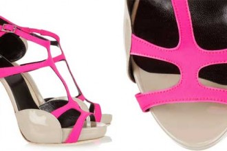Pierre Hardy neoprene sandals
