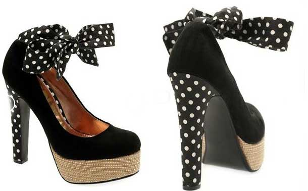 polka dot shoes from Next