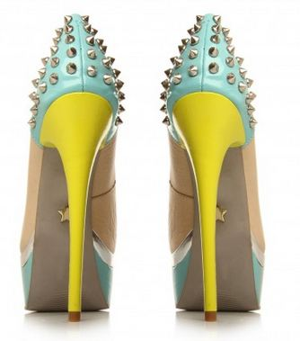 spike heel shoes