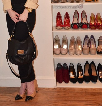 zara toecap court shoes, Marc Jacobs bag