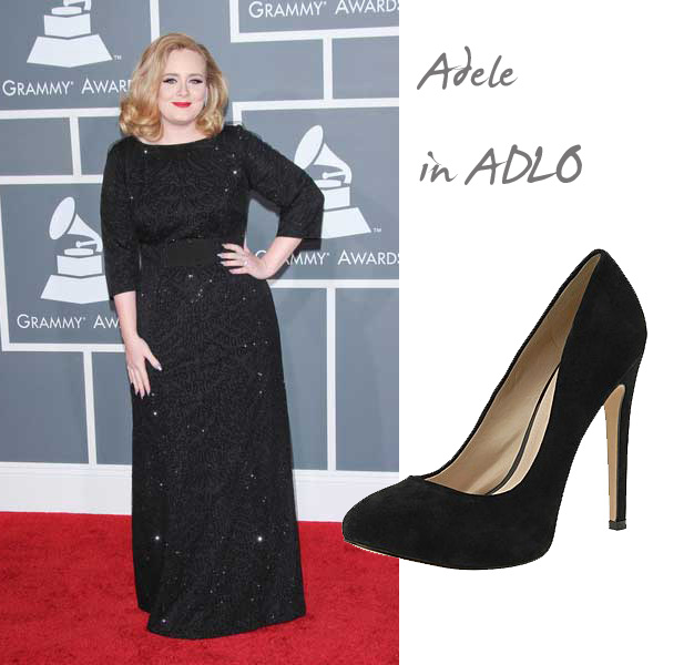 Adele at the 2012 Grammy Awards