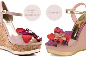 Shoe dupes by Charles David and Carvela