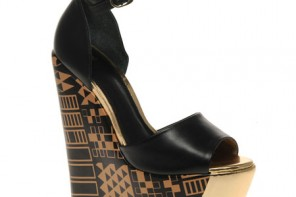 Egyptian print wedges ASOS
