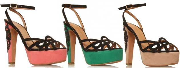 Kurt Geiger Heaven platform sandals