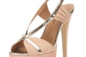Miss Selfridge Harper pink fan sandals