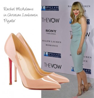 Rachel McAdams in Christian Louboutin 'Pigalle'