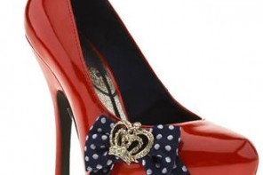 Schuh Colette Crown Bow Platforms