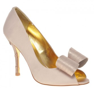 Ted Baker Philesia High Heel Peep Toe Court