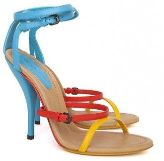 Bottega Veneta runway sandals