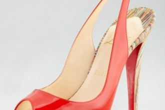 Christian Louboutin No Prive Slingbacks